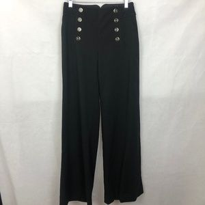 Anthropologie Elevenses High Waist Wide Leg Pants
